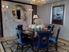 新古典风格两室两厅餐厅效果图