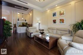 二居室新房客厅装修效果图大全图片