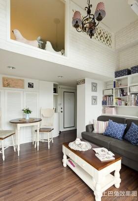小户型客厅40平米小户型装修设计图