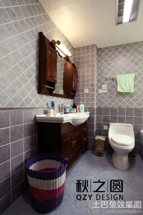 二居室卫生间布置效果图