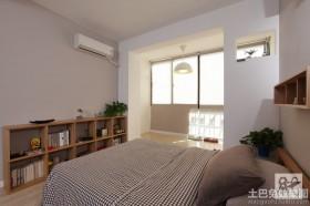 日式简约风格装修卧室效果图