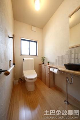 日式简约家居卫生间装修效果图