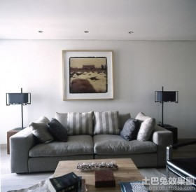 二居室客厅家用沙发效果图