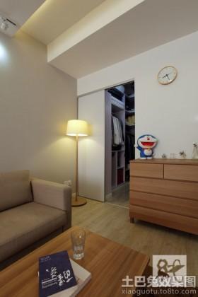 簡約風格客廳極簡主義室內裝修效果圖
