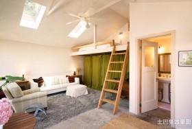简约风格loft公寓装修图片