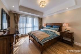 实木古典欧式卧室装修效果图