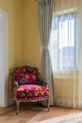 时尚混搭单人沙发图片
