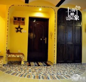地中海风格玄关地砖装饰效果图欣赏
