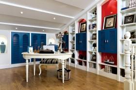 地中海风格书房装修效果图欣赏