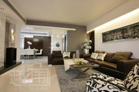 现代风格四居室客厅装修效果图欣赏