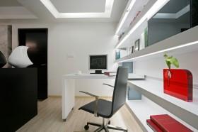 现代风格书房组合书架效果图欣赏