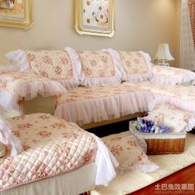 韩式风格客厅沙发效果图