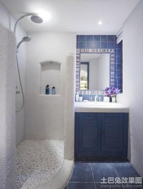地中海风格淋浴房图片