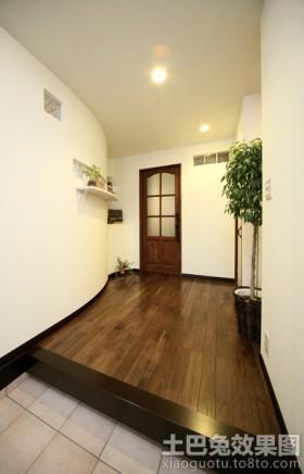 最新日式住宅进门装修效果图