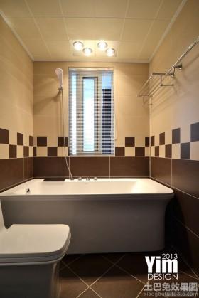 现代简约卫生间装修图片欣赏