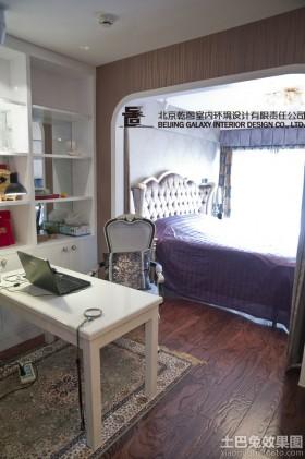 新古典风格卧室书房设计效果图