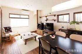 日式风格小户型客厅装修效果图
