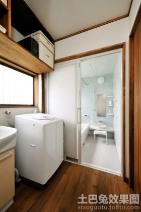 日式风格卫生间装修图片