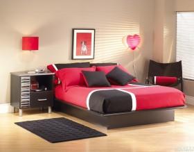 现代卧室颜色搭配图片