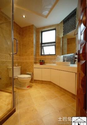 现代简约家居卫生间装修效果图欣赏