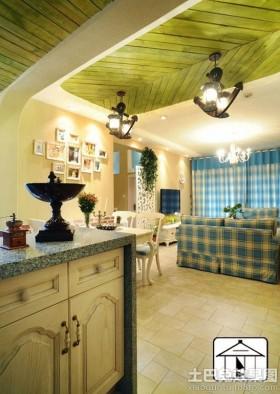 地中海风格室内设计效果图片