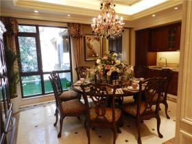 欧式风格别墅餐厅装修设计
