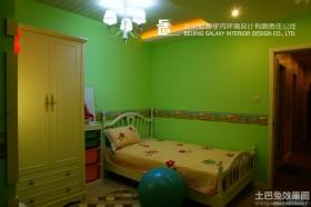 儿童房墙面颜色效果图片