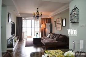 混搭三居室客厅灯具设计