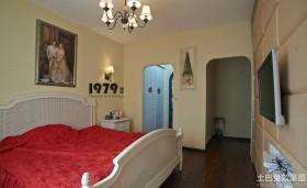 地中海婚房卧室装修效果图