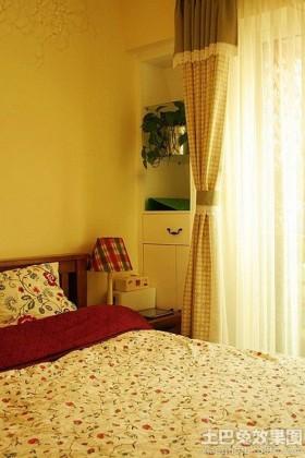 英伦田园风格卧室欧式台灯图片
