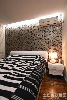 简约40平米一居室卧室装修图