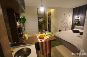 15平米单身公寓装修效果图