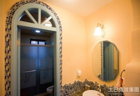 卫生间拱形门效果图