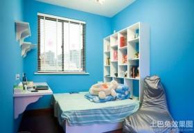 蓝色儿童房装修效果图大全