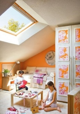 阁楼公寓儿童房装修效果图