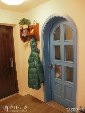 地中海风格房门图片