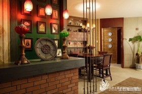 东南亚风格软装配饰效果图