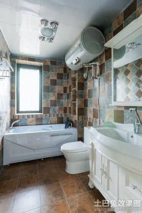 家庭卫生间墙砖效果图大全