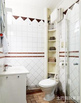 40平米一居室卫生间装修图