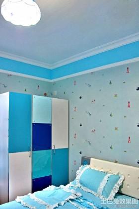 地中海风格卧室衣柜图片