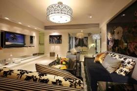 现代客厅灯具设计效果图大全