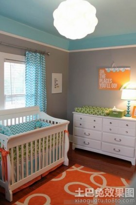 欧式风格婴儿房装修效果图大全