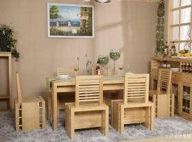 日式简约原木色家具装修效果图