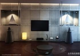 现代电视背景墙设计图大全