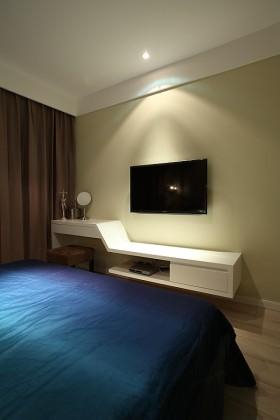 卧室悬空电视柜设计图