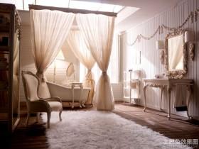 浴室复古风格装修图欣赏