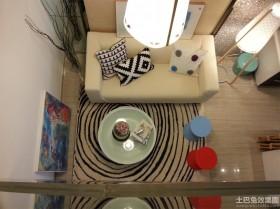 创意吊灯两室两厅装修效果图
