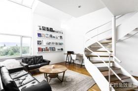 现代简约楼梯装修效果图