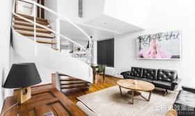 现代简约100平米客厅装修效果图