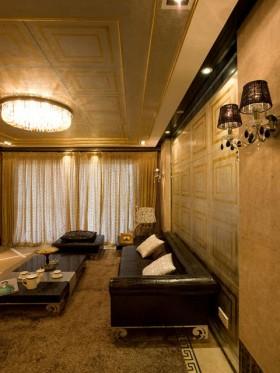 欧式现代两居室装潢设计效果图